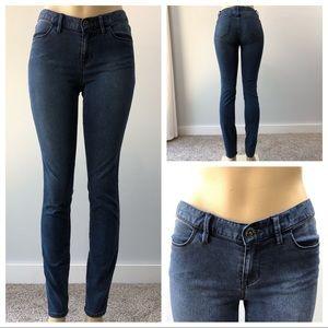 Madewell Dark Wash Legging Skinny Jeans